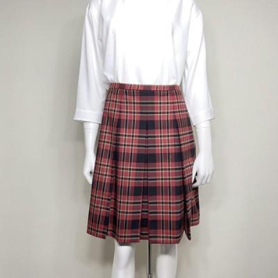 美品 ■マックスマーラ ステュディオ■ スカート チェック柄 レッド/ブラック Max Mara Studio 値下げしました