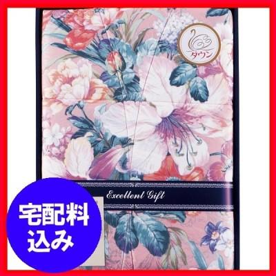 内祝 ギフト お返し 日本製 羽毛合掛けふとん ピンク  SH_UF−7201 日本製