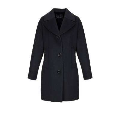 BOUTIQUE MOSCHINO コート ブラック 46 ウール 60% / レーヨン 40% コート