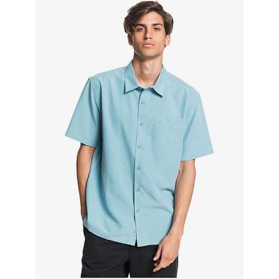 クイックシルバー シャツ メンズ トップス Quiksilver Men's Centinela 4 Shirt Stillwater Centinella