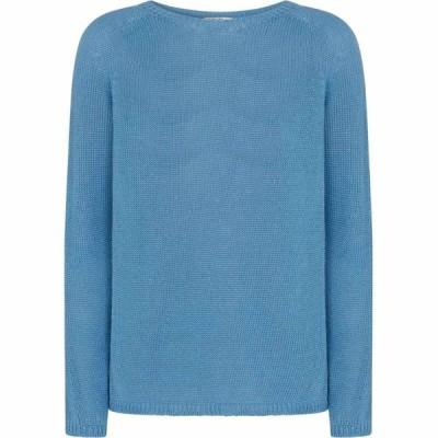 マックスマーラ S Max Mara レディース ニット・セーター トップス Giolino linen sweater Azzuro