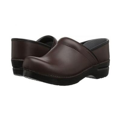 Dansko ダンスコ レディース 女性用 シューズ 靴 クロッグ ミュール Professional Leather - Chocolate Leather