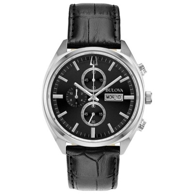 ブローバ Bulova 男性用 腕時計 メンズ ウォッチ クロノグラフ ブラック 96C133