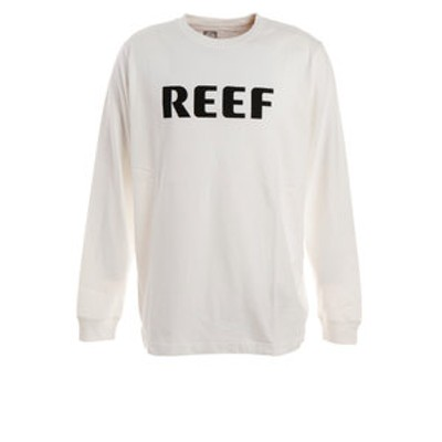 Tシャツ メンズ 長袖 BLOCK RF19FA-1001LS-WHI