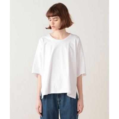 tシャツ Tシャツ バックドレープ カットソー