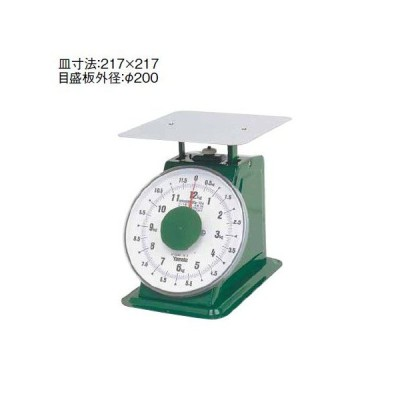 ハカリ ヤマト 上皿自動はかり「普及型」平皿付5kg (8-0577-0304)