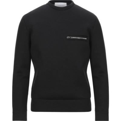 ロウブランド LOW BRAND メンズ スウェット・トレーナー トップス sweatshirt Black