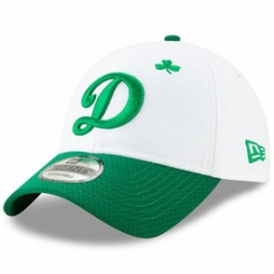 New Era ニュー エラ スポーツ用品  New Era Los Angeles Dodgers White/Kelly Green 2019 St. Patricks Day 9TWENTY Adjusta