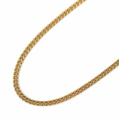 【中古】no brand ノーブランド 喜平 2面 シングル 全長約 51cm 約 29.9g ネックレス ユニセックス ゴールド K18イエローゴールド ジュエ