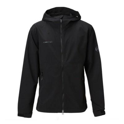アウトドアジャケット マムート Hiking WB Hooded Jacket AF Men's L 0001(black)