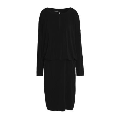 バイ・マレーネ・ビルガー BY MALENE BIRGER 7分丈ワンピース・ドレス ブラック XS ポリエステル 96% / ポリウレタン 4%