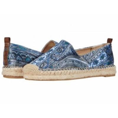 Sam Edelman サムエデルマン レディース 女性用 シューズ 靴 フラット Khloe Blue Multi Paisley Scarf Print Dress Silk【送料無料】