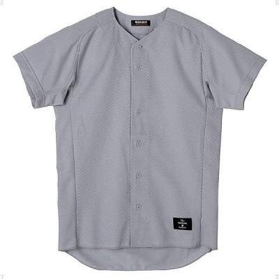 【送料290円】デサント 学生試合用ユニフォーム ボタンダウンシャツ シルバー DESCENTE STD31TA SLV