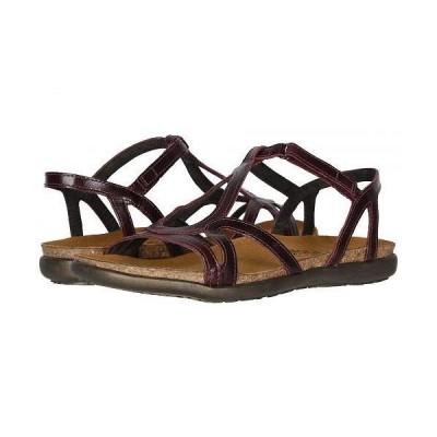 Naot ナオト レディース 女性用 シューズ 靴 サンダル Dorith - Bordeaux Leather