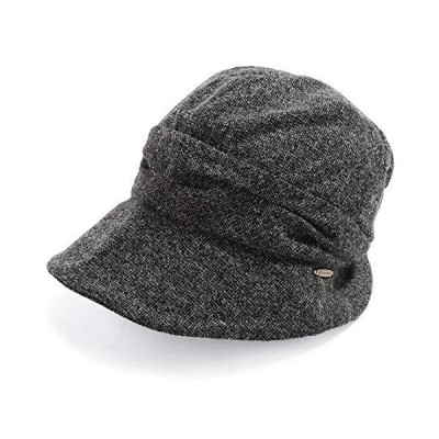 QUEENHEAD AWミラクルキャスダウンハット 帽子 大きいサイズ レディース ハット つば広 紫外線 UV 防寒対策 小顔効