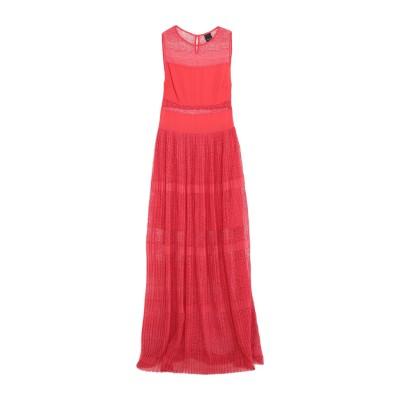 ピンコ PINKO ロングワンピース&ドレス レッド 38 ポリエステル 100% ロングワンピース&ドレス