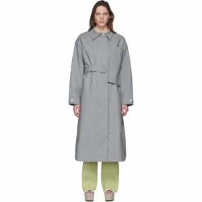 ジャックムス Jacquemus レディース コート アウター Grey Le Manteau Camiseto Long Coat Grey