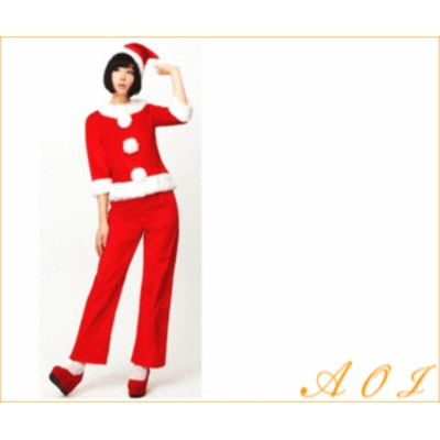 【レディ】【XM(C)-14】ベーシックパンツサンタ【でんぱ組】【クリスマス】【サンタ】【サンタクロース】【パーティ】でんぱ組がイメージ