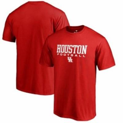 Fanatics Branded ファナティクス ブランド スポーツ用品  Fanatics Branded Houston Cougars Red True Sport Football T-Shirt