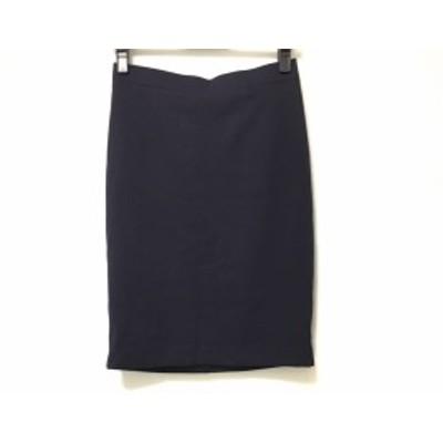 ダブルスタンダードクロージング DOUBLE STANDARD CLOTHING スカート レディース ダークパープル【中古】