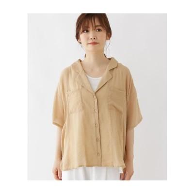 Cutie Blonde(キューティーブロンド)【M-L/2点セット】シアーシャツ+インナータンクトップ