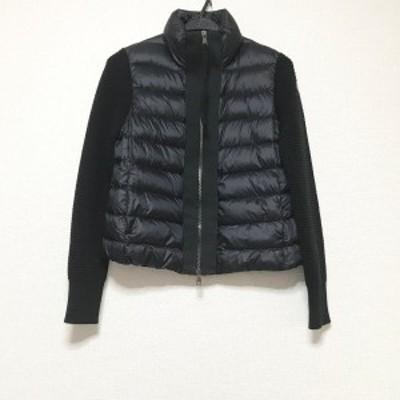 モンクレール MONCLER ダウンジャケット サイズXS レディース - 黒 長袖/冬【中古】20210306