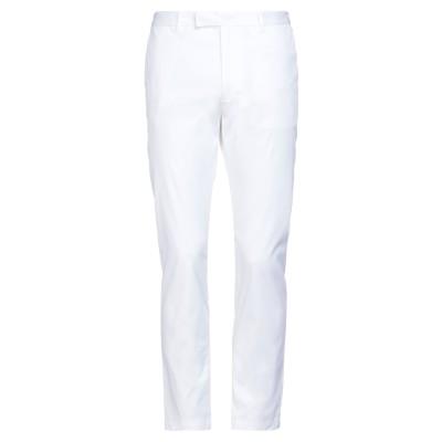 マウロ グリフォーニ MAURO GRIFONI パンツ ホワイト 52 バージンウール 97% / ポリウレタン 3% パンツ