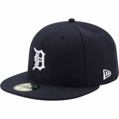 ニューエラ キャップ Detroit Tigers 59Fifty Home Navy Authentic Hat