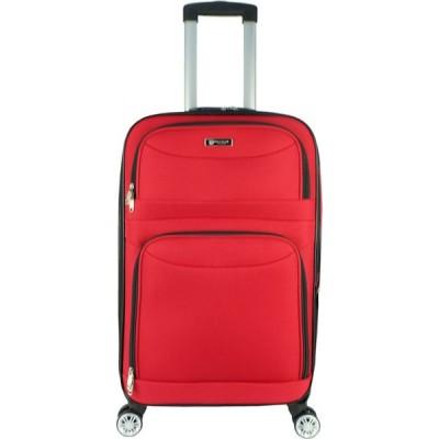 ポリクラブ Poly-Club レディース スーツケース・キャリーバッグ バッグ Be9858 20Inch 4W Eva Expendable Softcase Luggage- Red Red