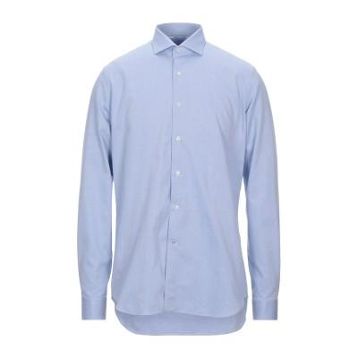 UNGARO シャツ アジュールブルー 39 コットン 100% シャツ