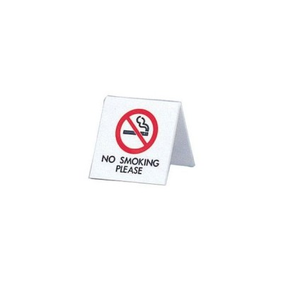 アクリル 卓上禁煙サイン UP662-4 PSI17