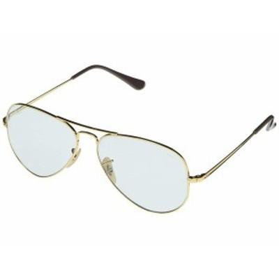 レイバン メンズ サングラス・アイウェア アクセサリー RB3689 Aviator Metal II Metal Sunglasses 58 mm Gold 2