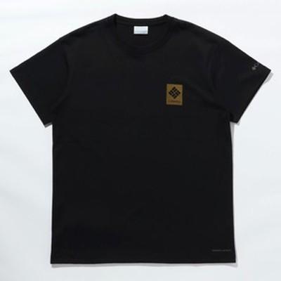 コロンビア アウトドアシャツ 【21春夏】キングストン スロープ ショートスリーブ Tシャツ メンズ  M  011(Black)