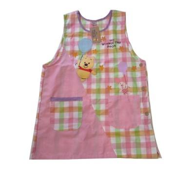 エプロン キッチンファブリック エプロン ディズニー 可愛い Disney くまのプーさん エプロン サービス品 ピンク 330880