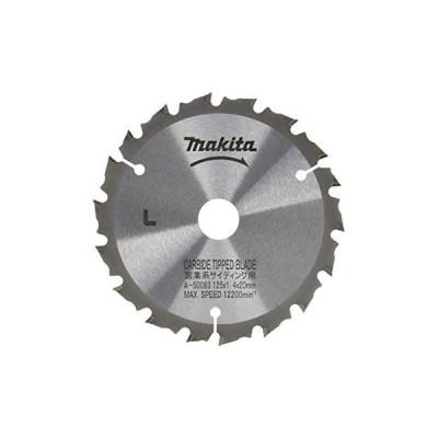 マキタ  防じん丸ノコ 硬質窯業系サイディング用 チップソー 外径125mm X 刃数18 A-50083