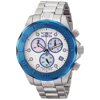 インビクタ Invicta インヴィクタ 男性用 腕時計 メンズ ウォッチ クロノグラフ シルバー 11449