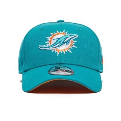 ニューエラ New Era メンズ キャップ 帽子 NFL Miami Dolphins 9FORTY Cap blue