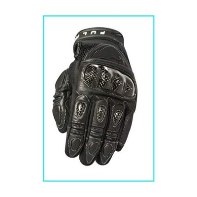 Fulmer Street Moto Track (Touch Screen Compatible) Motorcycle Gloves - Black, 3XL【並行輸入品】
