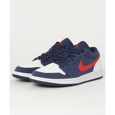 スニーカー AIRJORDAN 1 LOW SE エア ジョーダン 1 LOW SE CZ8454-400 400MNNAVY/U RED