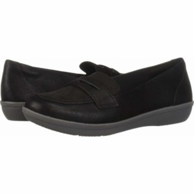 クラークス Clarks レディース ローファー・オックスフォード シューズ・靴 Ayla Form Black Synthetic Nubuck