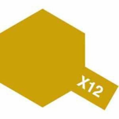 タミヤ タミヤカラー X-12 ゴールドリーフ