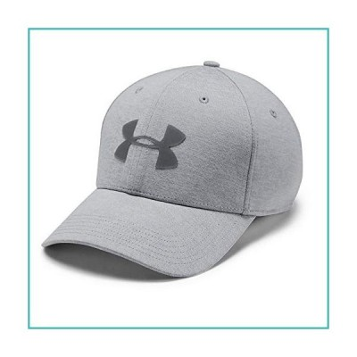 Under Armour Men's Twist Closer 2.0 Hat, Mod Gray (011)/Steel, Medium/Large【並行輸入品】