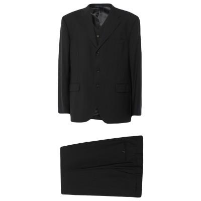 サルトリア・ラトーレ SARTORIA LATORRE スーツ ダークブルー 62 ウール 100% スーツ