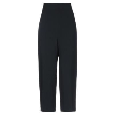 CLIPS パンツ ブラック 40 レーヨン 70% / アセテート 26% / ポリウレタン 4% パンツ