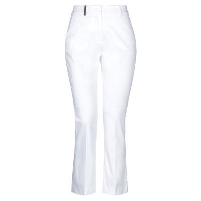 ペゼリコ PESERICO パンツ ホワイト 38 コットン 96% / ポリウレタン 4% パンツ