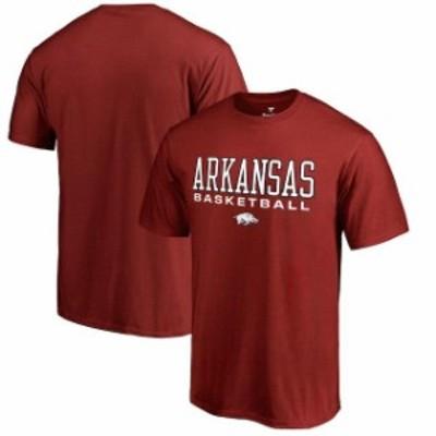 Fanatics Branded ファナティクス ブランド スポーツ用品  Fanatics Branded Arkansas Razorbacks Cardinal True Sport Basketball T-Shi