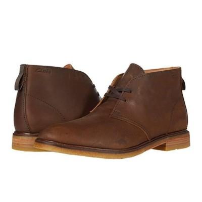クラークス Clarkdale DBT メンズ ブーツ Beeswax Leather