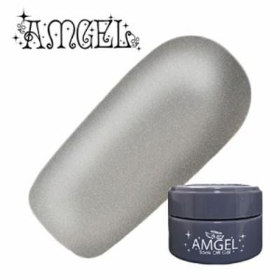 ジェルネイル セルフ カラージェル アンジェル AMGEL カラージェル AG4005 シルバーの雫 3g