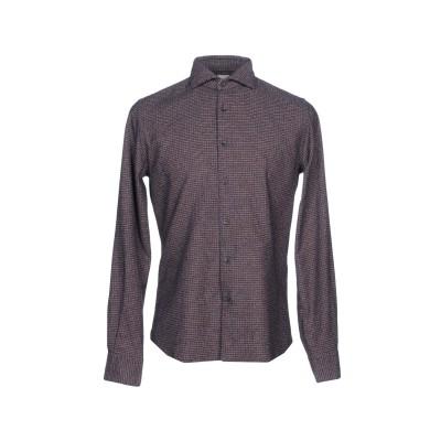XACUS シャツ ダークブルー 40 コットン 80% / ナイロン 20% シャツ