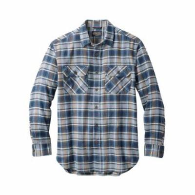 ペンドルトン Pendleton メンズ シャツ フランネルシャツ トップス super soft burnside flannel shirt Lt. Blue/Navy/Brown Plaid